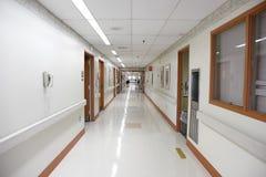 Empty hospital walkway Royalty Free Stock Photo