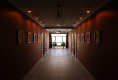 Empty hotel  hallway Royalty Free Stock Images