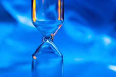 Empty hourglass Stock Photography