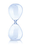 Empty hourglass royalty free stock images