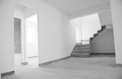 Empty house Stock Images