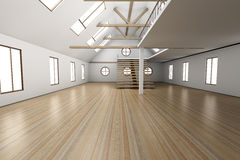Empty House Royalty Free Stock Photography