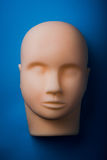 Empty human mannequin head Royalty Free Stock Photo