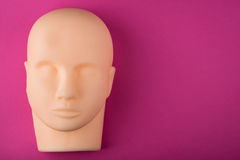 Empty human mannequin head Royalty Free Stock Photos