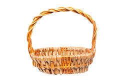 Empty hyacinth baskets for items to bring along a gift or celebr Stock Photos
