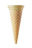 Empty ice cream cone Stock Images