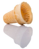 Empty Ice Cream Cone Cup III Royalty Free Stock Image