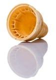 Empty Ice Cream Cone Cup IV Stock Image