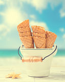 Empty Ice Cream Cones Royalty Free Stock Image