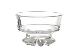 Empty Ice Cream Dessert Glass Bowl Stock Images