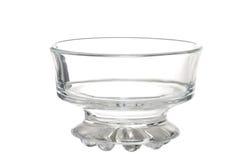 Empty Ice Cream Dessert Glass Bowl Stock Images