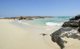 Empty Idyllic Beach Australia Royalty Free Stock Photo