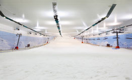 Empty indoor lighting ski Stock Photography