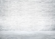 Empty Industrial Interior Wall for a Copy Space Royalty Free Stock Images