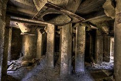 Empty industrial room Royalty Free Stock Images