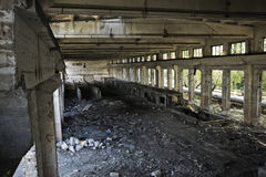 Empty industrial room Royalty Free Stock Image