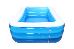 Empty inflatable rubber pool Stock Image