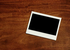 Empty instant photo frame Stock Photography