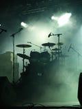 empty instruments stage Στοκ Εικόνες