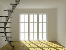 Empty interior. The image of an empty interior Royalty Free Stock Image