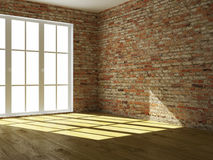 Empty interior. The image of an empty interior Royalty Free Stock Images