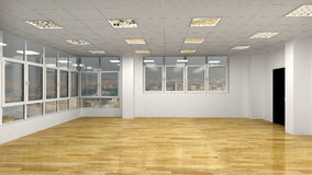 Empty interior Stock Photo