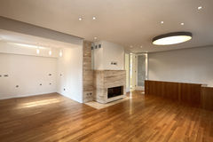 Empty Interior of Apartment Royalty Free Stock Image