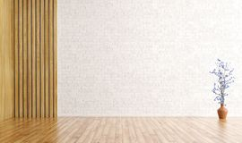 Interior background 3d render Royalty Free Stock Photography