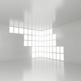 Empty Interior with big Window Royalty Free Stock Photography