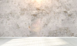 Empty interior . 3D render Royalty Free Stock Photos