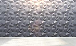 Empty interior . 3D render Stock Photos