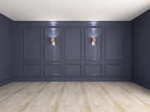Empty interior 3d rendering Royalty Free Stock Photography