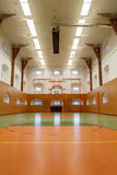 Empty interior of public gym Stock Image