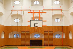 Empty interior of public gym Royalty Free Stock Photo