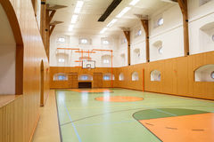 Empty interior of public gym Royalty Free Stock Photos