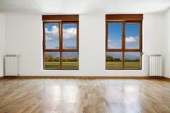 Free Empty Interior Room And Windows Stock Image - 40322341