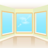 Empty interior room Royalty Free Stock Images