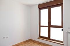 Empty interior room and window Stock Photo