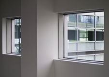 Empty interior with window. Empty office interior with window Stock Photography