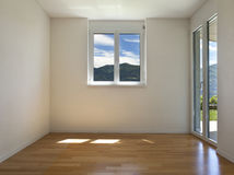 Empty internal view Stock Image