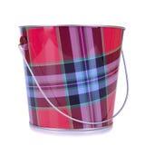 Empty iron bucket Stock Photo