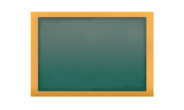 Empty isolated chalkboard Royalty Free Stock Photos