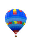 Empty isolated hot air balloon Royalty Free Stock Photos