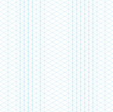 Empty isometric grid seamless pattern Royalty Free Stock Photo