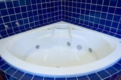 Empty Jacuzzi. For 2 royalty free stock image