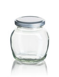 Empty jam jar Stock Photography