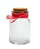 Empty jar Royalty Free Stock Images