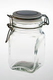 Empty jar Royalty Free Stock Photography