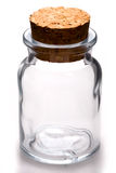 Empty jar Royalty Free Stock Photos