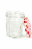 Empty jar. Royalty Free Stock Photo